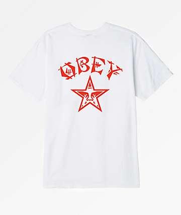 Obey Tokyo White T-Shirt