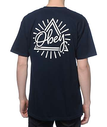 Obey Triangle T-Shirt