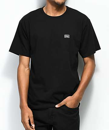 Obey Typewriter Black T-Shirt