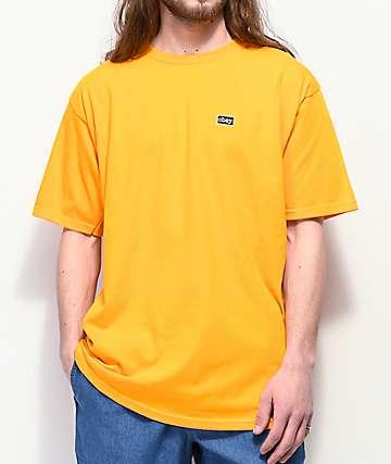 Obey Typewriter Gold T-Shirt