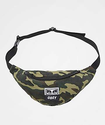 Obey Wasted Field Camo Fanny Pack
