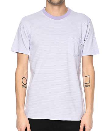 Obey Wisemaker Lavender Pocket T-Shirt