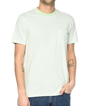 Obey Wisemaker Mint Pocket T-Shirt