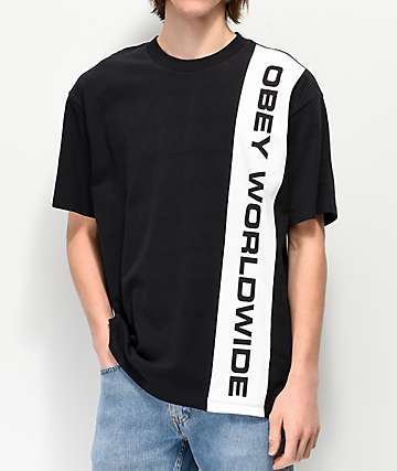 Obey Worldwide Black & White T-Shirt