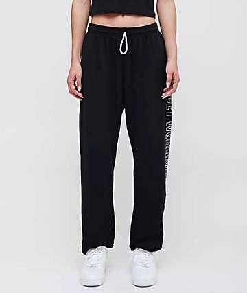Obey Worldwide Outline Black Sweatpants
