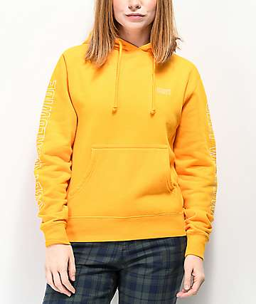 Obey Worldwide Outline Gold Hoodie