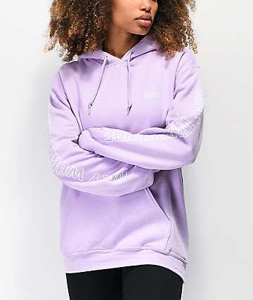 Obey Worldwide Outline Lavender Hoodie