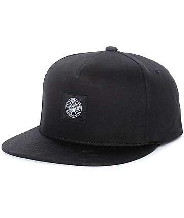 Obey Worldwide Seal gorra snapback en negro