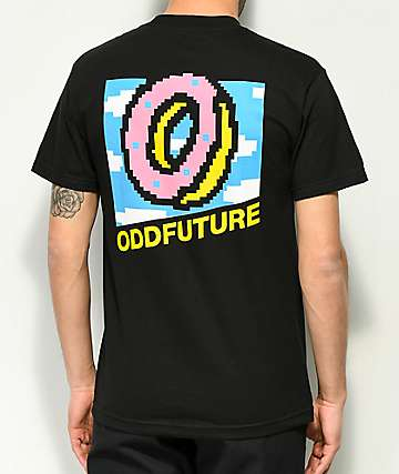 Odd Future 8-Bit Black T-Shirt