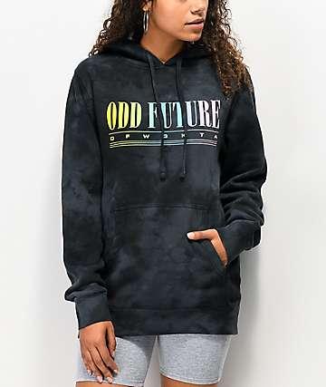 Odd Future 90's Sport Black Wash Hoodie