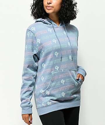 Odd Future All Over Print Dusty Blue Hoodie