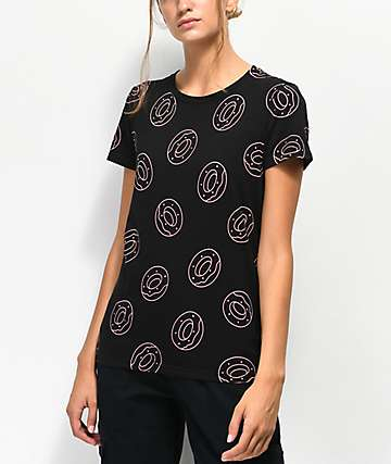 Odd Future Allover Donut Black T-Shirt