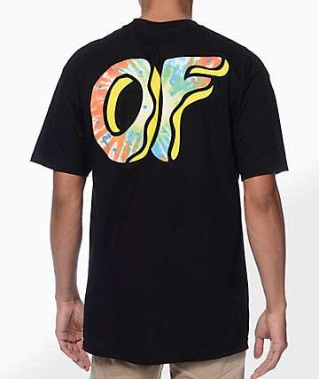 Odd Future Awesome Donut camiseta negra