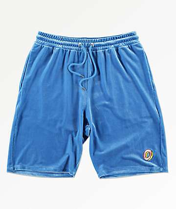 Odd Future Beach Blue Velour Shorts
