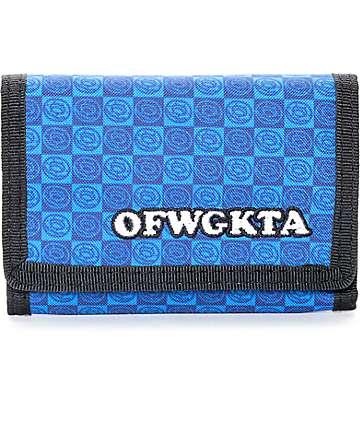 Odd Future Blue Trifold Wallet