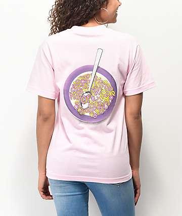 Odd Future Cereal Bowl camiseta rosa claro