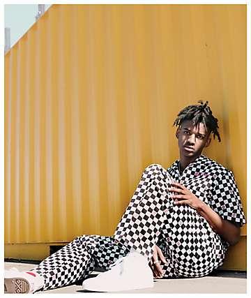 Odd Future Checkered Black & White Coverall