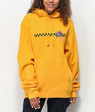 Odd Future Checkered Rose Gold Hoodie