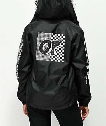 Odd Future Checkered chaqueta cortavientos negra