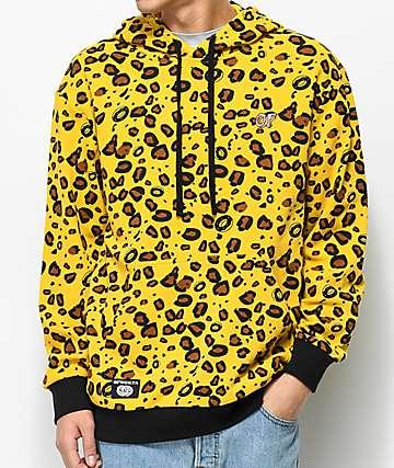 Odd Future Cheetah Print Hoodie
