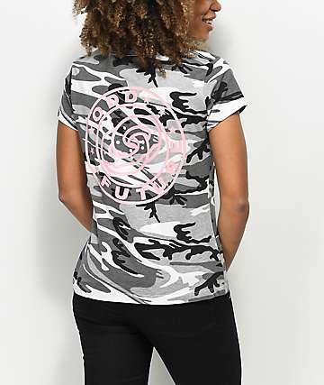 Odd Future Circle Logo Black Camo T-Shirt