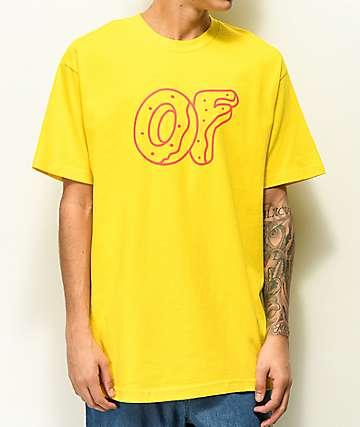 Odd Future Classic Donut camiseta amarilla
