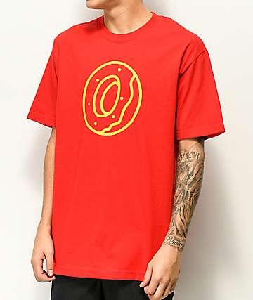 Odd Future Classic Donut camiseta roja