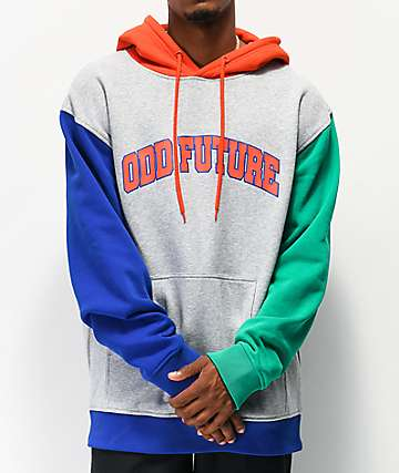 Odd Future Collegiate Block Grey Hoodie