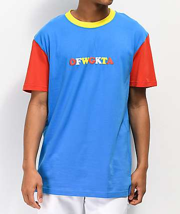 31b6c295eb4218 Odd Future Colorblocked Red