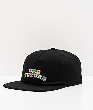 Odd Future Deconstructed Black Snapback Hat