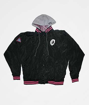 Odd Future Donut 2fer Black Varsity Jacket
