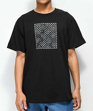 Odd Future Donut Square Fill camiseta negra