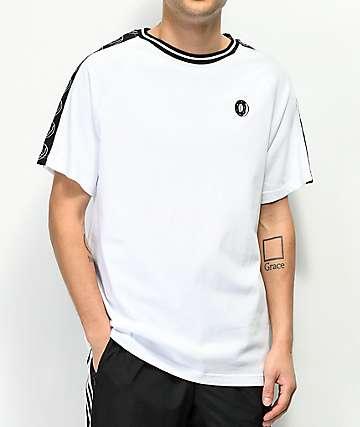 Odd Future Donut Taped Sleeve White T-Shirt