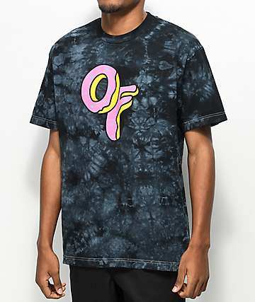 Odd Future Donut camiseta teñida anudado