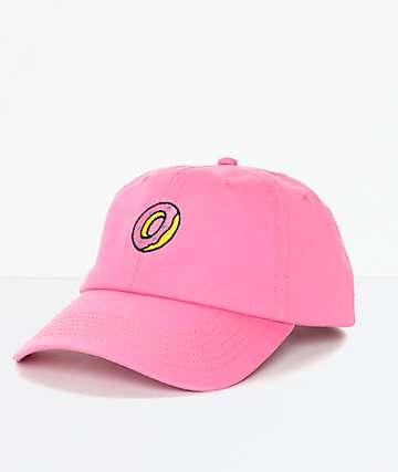 Odd Future Embroidered Donut gorra rosa strapback