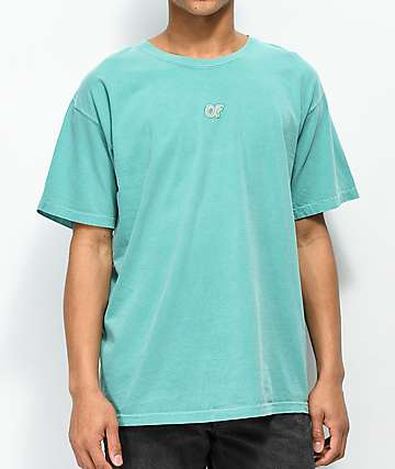 b20bee93 Odd Future Embroidered Turquoise T-Shirt