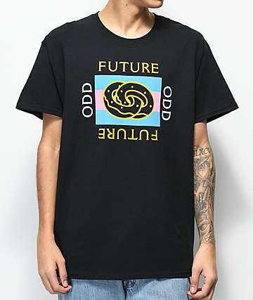 2df9cedd77c244 Odd Future Eternity Ring Box Black T-Shirt