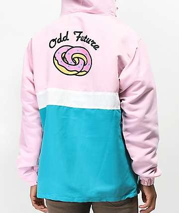 Odd Future Eternity Ring chaqueta anorak rosa y azul