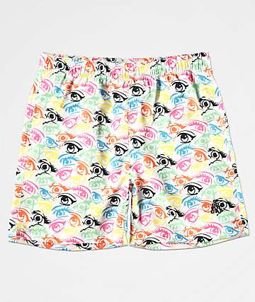 4ab65f8f3e Odd Future Eyeball Elastic Waist Board Shorts