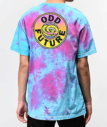 Odd Future Gradient Lock Up Tie Dye T-Shirt