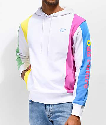 Odd Future Nautical White Hoodie