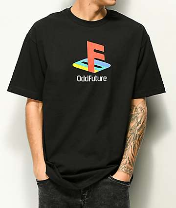 Odd Future Oddstation camiseta negra