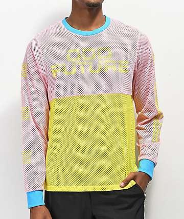Odd Future Pink Meche Moto Jersey