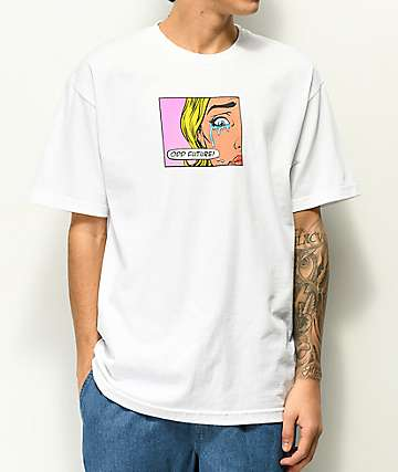 Odd Future Pop Art Tears White T-Shirt