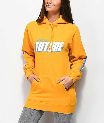 Odd Future Racing sudadera con capucha dorada