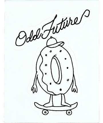 Odd Future Skating pegatina