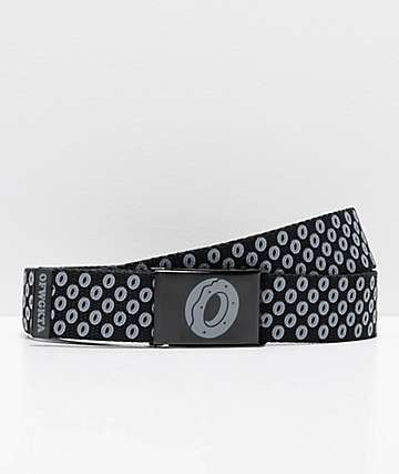 Odd Future Small Donut Black Web Belt