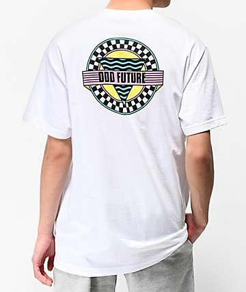 eefd6c71284ea5 Odd Future Ultra Vibes White T-Shirt