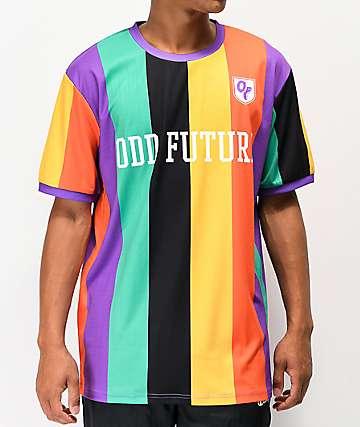 Odd Future Vertical Stripe Soccer Jersey