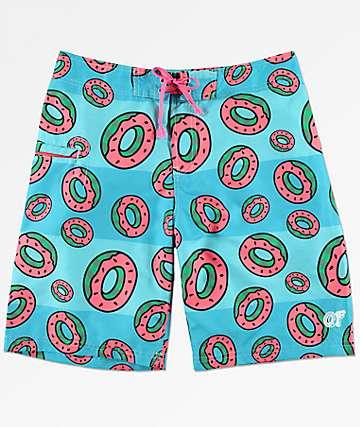 Odd Future Watermelon Stripe shorts de baño